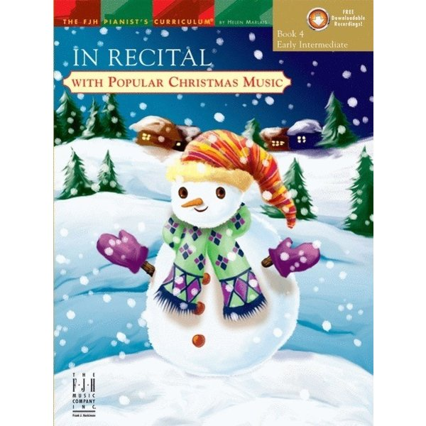 FJH In Recital with Popular Christmas Music, Book 4