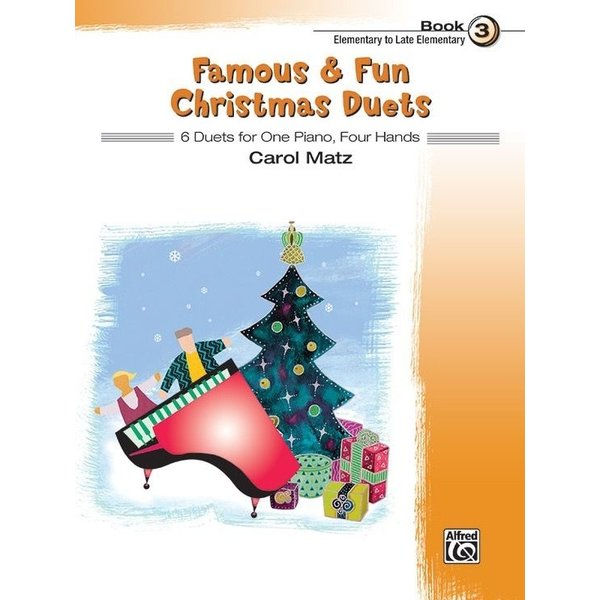 Alfred Music Famous & Fun Christmas Duets, Book 3