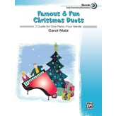 Alfred Music Famous & Fun Christmas Duets, Book 2