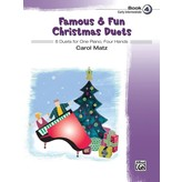 Alfred Music Famous & Fun Christmas Duets, Book 4