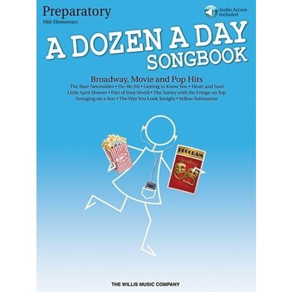 Hal Leonard A Dozen a Day Songbook - Preparatory Book