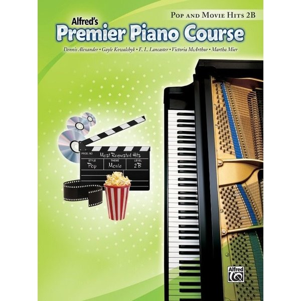 Alfred Music Premier Piano Course: Pop and Movie Hits Book 2B