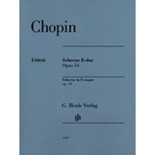 Hal Leonard Chopin - Scherzo E Major Op. 54