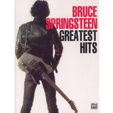Alfred Music Bruce Springsteen: Greatest Hits Piano/Vocal/Guitar