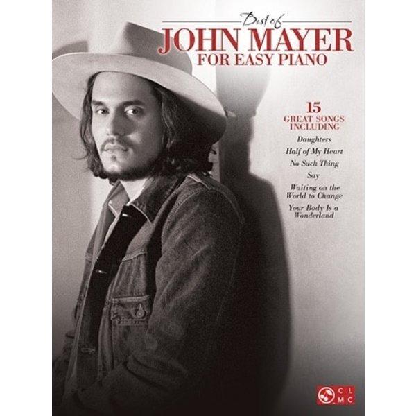 Hal Leonard Best of John Mayer for Easy Piano