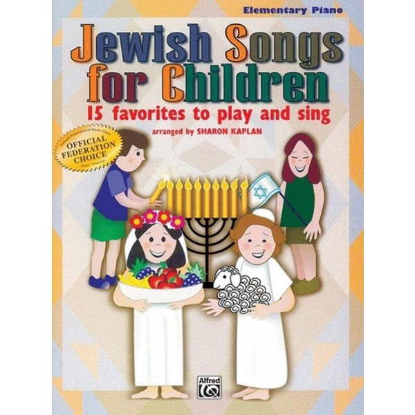 Alfred Music Jewish Songs for Children