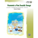 Alfred Music Famous & Fun Jewish Songs Book 5