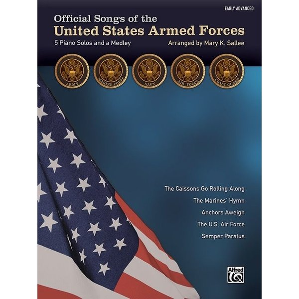 Alfred Music Official Songs of the United States Armed Forces - Early Advanced