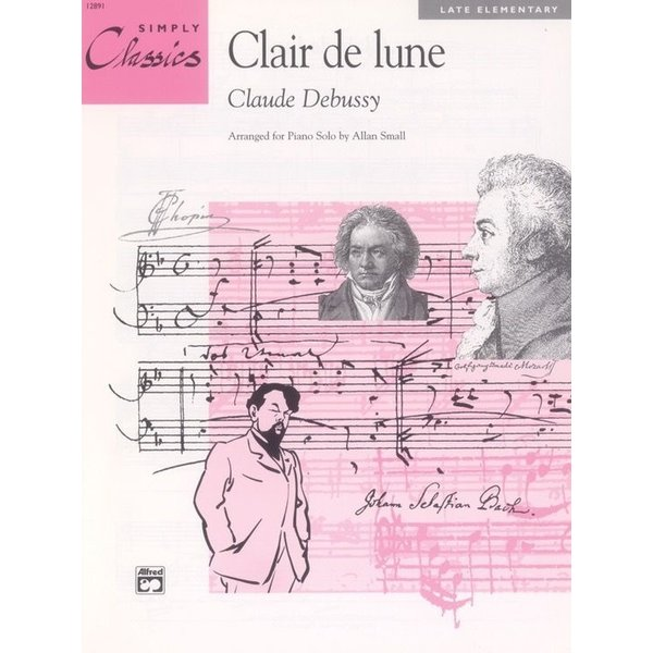 Alfred Music Clair de lune (from Suite Bergamasque)