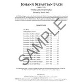 Kjos JS BACH, TWO PART INVENTIONS