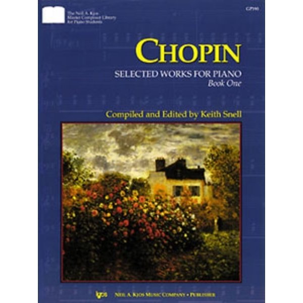 Kjos CHOPIN SELECTED WORKS FOR PIANO, BK1