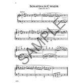 Kjos CLEMENTI SIX SONATINAS FOR PIANO