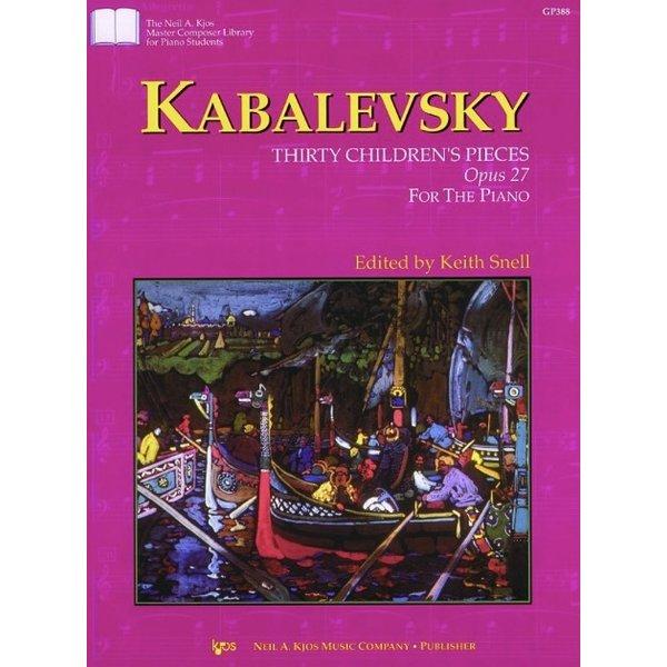 Kjos Kabalevsky - 30 CHILDREN'S PIECES, OPUS 27