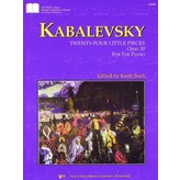 Kjos Kabalevsky 24 Little Pieces, Opus 39