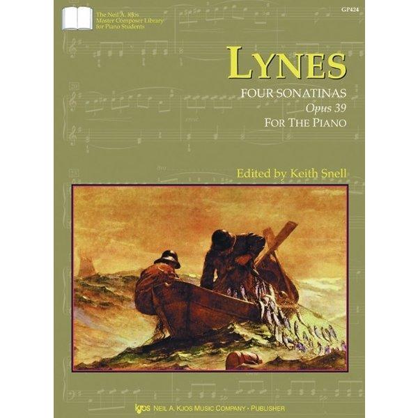 Kjos LYNES: FOUR SONATINAS, OPUS 39