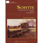Kjos Schytte: Sixteen Recital Etudes, Opus 58