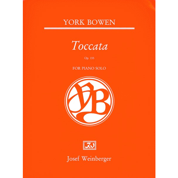 Joseph Weinberger Bowen - Toccata, Op. 155