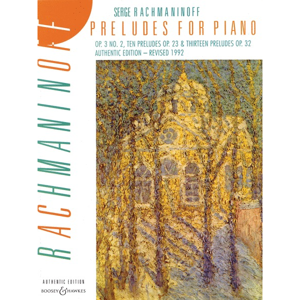 Boosey & Hawkes Rachmaninoff - Preludes for Piano