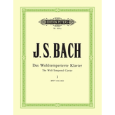 Edition Peters Bach - The Well-Tempered Clavier Part 1 BWV 846-869