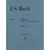 Henle Urtext Editions Bach - Sinfonias (Three Part Inventions) – Revised Edition