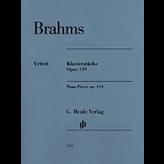 Henle Urtext Editions Brahms - Piano Pieces Op. 119, Nos. 1-4