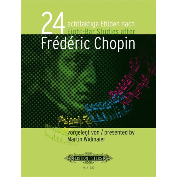 Edition Peters Widmaier - 24 eight-measure Studies after Frédéric Chopin