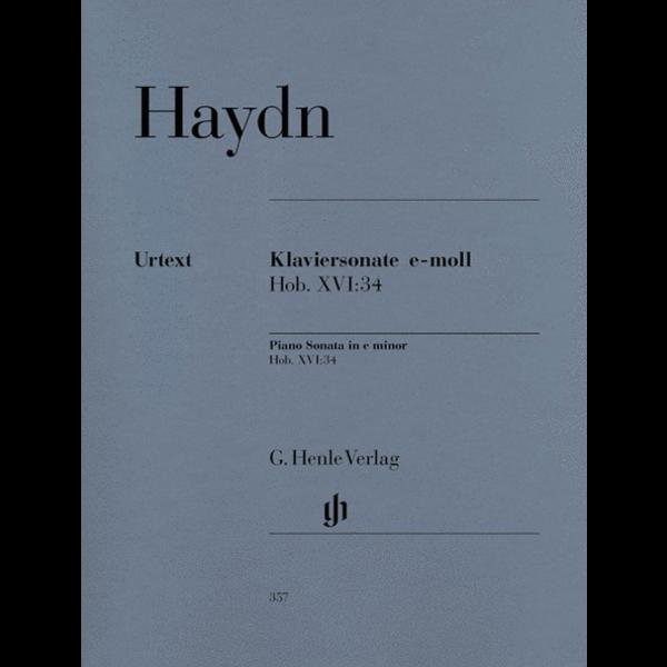 Henle Urtext Editions Piano Sonata in E minor Hob.XVI:34