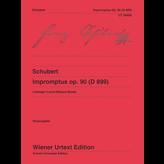Wiener Urtext Edition Schubert - Impromptus Op. 90 D899