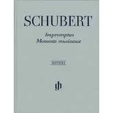 Henle Urtext Editions Schubert - Impromptus and Moments Musicaux Hardcover
