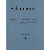 Henle Urtext Editions Schumann - Album for the Young Op. 68 and Scenes from Childhood Op. 15