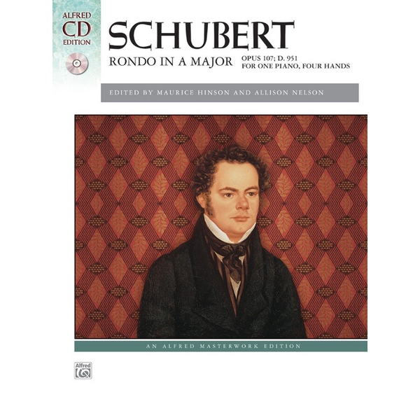 Alfred Music Schubert - Rondo in A Major, Opus 107, D. 951