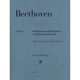 Henle Urtext Editions Beethoven - Cadenzas and Lead-Ins for Piano Concertos