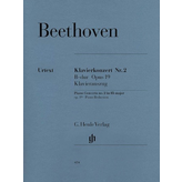 Henle Urtext Editions Beethoven - Concerto for Piano and Orchestra B Flat Major Op. 19, No. 2