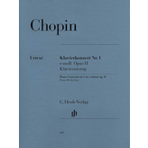 Henle Urtext Editions Chopin - Concerto for Piano and Orchestra E minor Op. 11, No. 1
