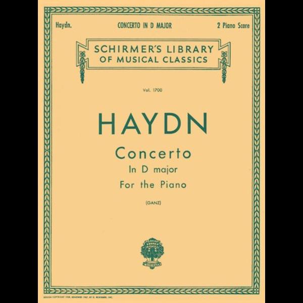 Schirmer Haydn - Concerto in D