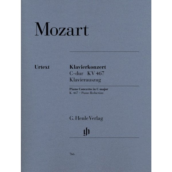 Henle Urtext Editions Mozart - Concerto for Piano and Orchestra C Major K.467