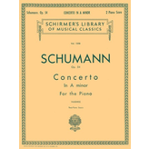 Schirmer Schumann - Concerto in A Minor, Op. 54 (2-piano score)