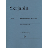 Henle Urtext Editions Scriabin - Piano Sonatas Nos. 1-10
