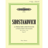 Edition Peters Shostakovich - 24 Preludes & Fugues Op.87 Vol.2