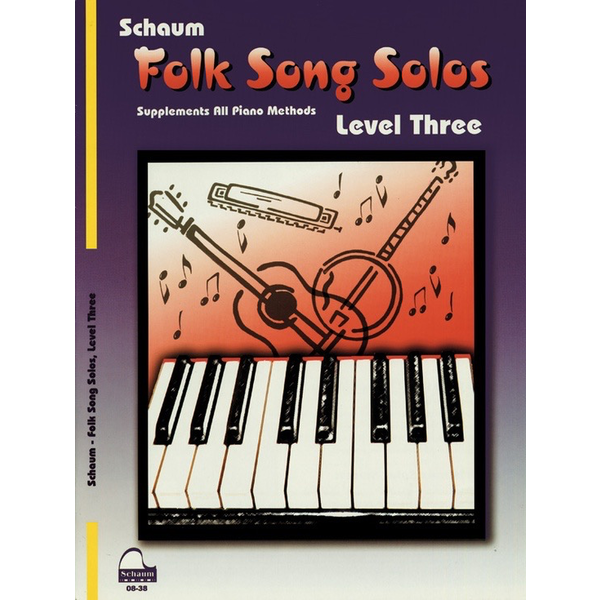 Alfred Music Folk Song Solos, Level 3
