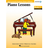 Hal Leonard Piano Lessons Book 3 - Revised Edition