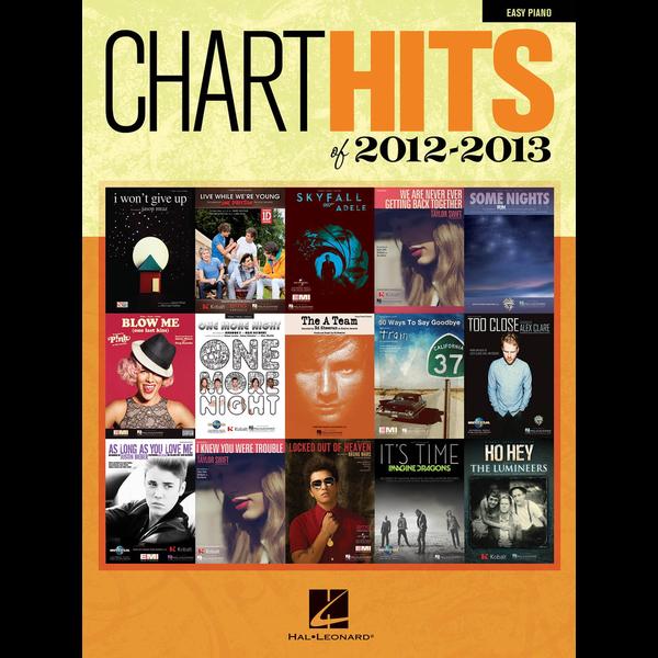 Hal Leonard Chart Hits of 2012-2013