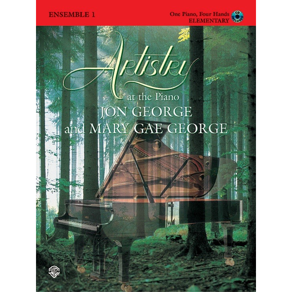Alfred Music Artistry at the Piano: Ensemble, Book 1 (1 Piano, 4 Hands)
