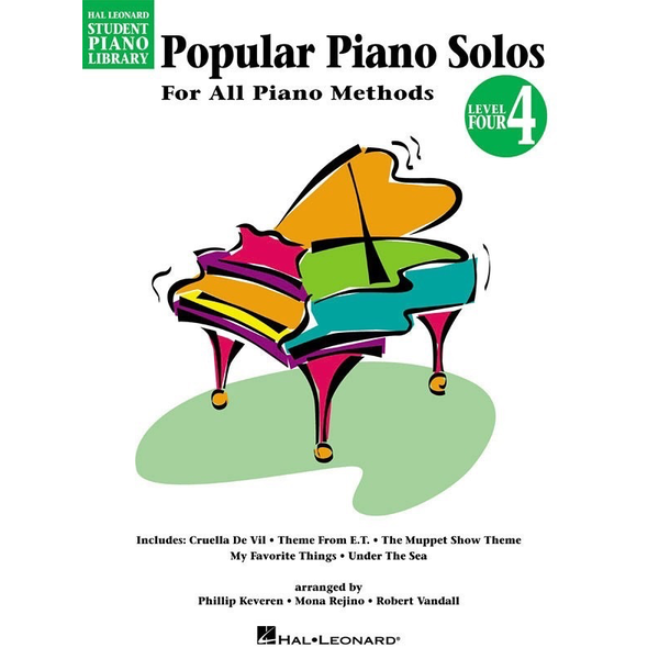 Hal Leonard Popular Piano Solos - Level 4