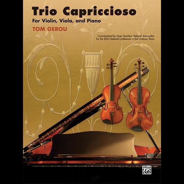 Alfred Music Trio Capriccioso for Violin, Viola, and Piano