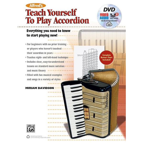 Alfred Music Alfred's Teach Yourself to Play Accordion