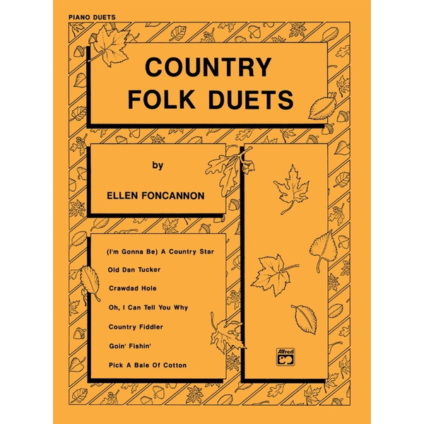 Alfred Music Country Folk Duets