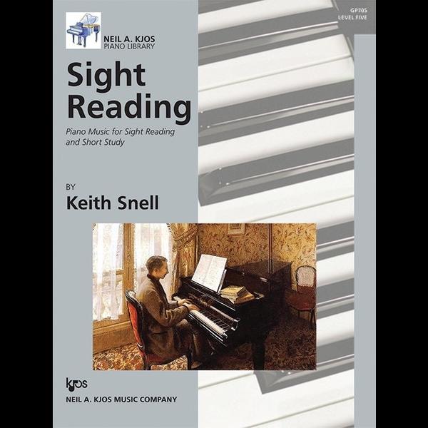 Kjos Sight Reading: Piano Music for Sight Reading and Short Study, Level 5