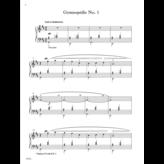 FJH Gymnopédies and Gnossiennes