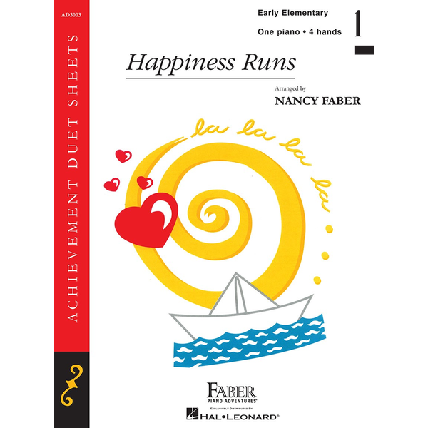 Faber Piano Adventures Happiness Runs
